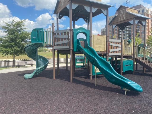 Memorial Park slides